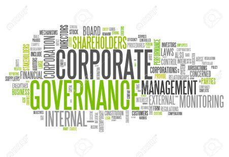 30441567-Nuage-de-mot-avec-la-gouvernance-d-entreprise-li-s-balises-Banque-d'images