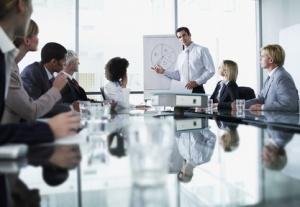 boardroom presentation
